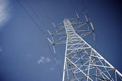 Linha eléctrica elétrica Imagem de Stock