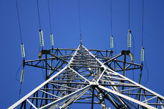 Linha eléctrica IV imagens de stock