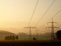 Linha elétrica Foto de Stock Royalty Free