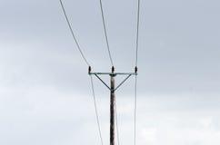 Linha elétrica Imagem de Stock