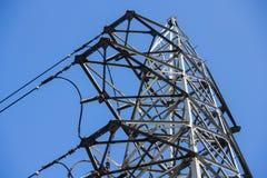 Linha elétrica da eletricidade Imagens de Stock Royalty Free