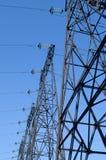 Linha elétrica de alta tensão Imagem de Stock Royalty Free