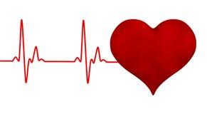 Linha eletrocardiograma da pulsação do coração do pulso do coração