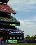 Linha esquerda Shea Stadium, Queens, NY Fotos de Stock Royalty Free