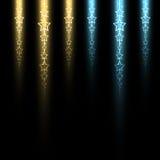 Linha estelar luminosa Ilustração Stock