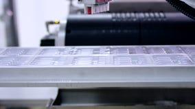 Linha farmacêutica da fabricação Indústria da medicina Linha de produção automatizada video estoque
