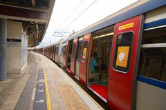 Linha ferroviária do leste Imagens de Stock Royalty Free