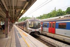 Linha ferroviária do leste Imagens de Stock