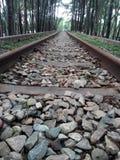 Linha ferrovi?ria fotografia de stock
