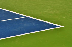 Linha fundo da corte de tênis Fotos de Stock Royalty Free