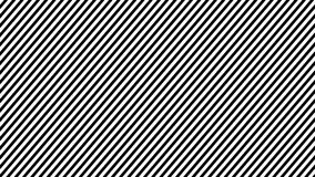 Linha fundo da zebra da animação do movimento Laço sem emenda ilustração stock