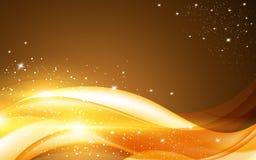 Linha fundo do Natal do vetor da celebração do teste padrão do projeto da luz das estrelas Fotografia de Stock