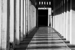 Linha geométrica construção Construção urbana da geometria Fotos de Stock