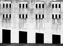 Linha geométrica construção Construção urbana da geometria Imagens de Stock Royalty Free