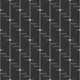 Linha geométrica de intervalo mínimo teste padrão sem emenda Imagem de Stock