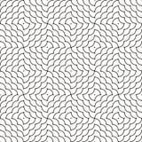 Linha geométrica escalas do ornamento Fotos de Stock
