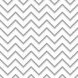 Linha geométrica teste padrão sem emenda do ziguezague da ordem do projeto da decoração do fundo do sumário imagens de stock