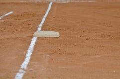 Linha hediondo de primeira base fotos de stock