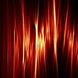 Linha ilustração da chama do fogo Imagens de Stock Royalty Free