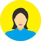 A linha lisa ícones do ícone dos povos ajustou o conceito Fotos de Stock