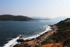 Linha litoral de Tap Mun em Hong Kong foto de stock