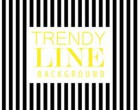 Linha na moda fundo, listra preta diagonal, elemento do projeto moderno, Fotografia de Stock Royalty Free