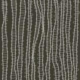 Linha natural clara ondulada teste padrão com projeto abstrato ilustração stock