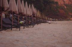 Linha no mar da praia imagens de stock