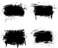 Linha peças do Grunge Foto de Stock Royalty Free