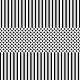Linha preto e branco fundo ilustração royalty free