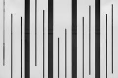 Linha preto e branco teste padrão Fotografia de Stock