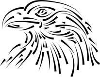 Linha principal arte de Eagle ilustração stock