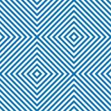 Linha quadrada fundo do teste padrão ilustração stock
