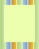 Linha quadro ilustração stock