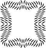 Linha quadro decorativo do sumário Elemento para o projeto ilustração do vetor
