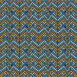 Linha quebrada do teste padrão abstrato heterogêneo Fotografia de Stock Royalty Free