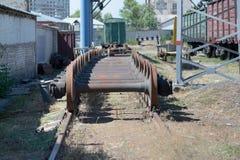 Linha Railway Fotos de Stock