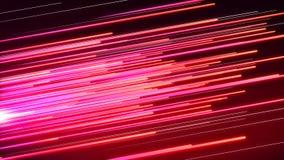 Linha rosa e vermelho da velocidade ilustração do vetor