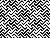 Linha sem emenda geométrica abstrata do teste padrão Fotos de Stock