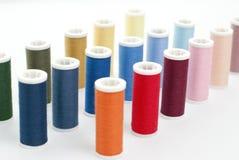 Linha Sewing Imagens de Stock