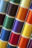 Linha Sewing Foto de Stock