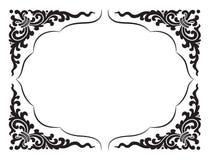 Linha teste padrão e quadro Imagem de Stock Royalty Free