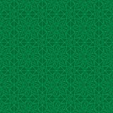 Linha teste padrão sem emenda da lua da flor da estrela da ramadã da simetria ilustração stock