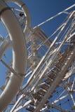 Linha torre do fecho de correr no Oklahoma City Fotografia de Stock