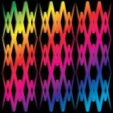 Linha transversal abstrata wallpaer Imagens de Stock