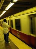 Linha vermelha Fotografia de Stock