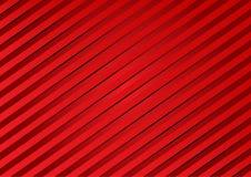 Linha vermelha no fundo vermelho, vetor Foto de Stock Royalty Free
