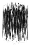 Linhas ásperas pretas fundo Imagens de Stock