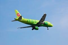 Linhas aéreas Airbus A319 de S7 Sibéria Fotos de Stock Royalty Free