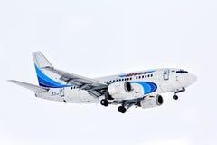 Linhas aéreas Boeing 737 de Yamal Imagens de Stock